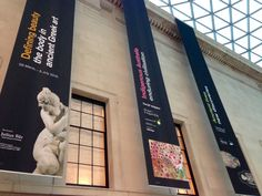 The British Museum: Enduring Nonsense Retail Signage, Event Signage, Wayfinding Signage, Mall Design, Sign Design, Exhibition Banners, Museum Branding, Bunting Design, Banner Design Inspiration