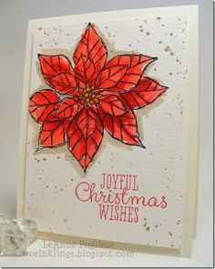 stamp watercolor, christma stamp, watercolor stampin, joy christma, christma watercolor