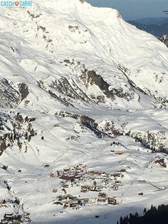 Austria slopes in Lech, Austria #slopes #ski #travel