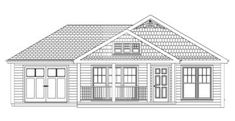 Spruce Hill with Garage. I like that this site actually gives you prices!  I like the little porch on this.  It's hard to visualize from a line drawing, but I get the basics.  ModularDirect.com