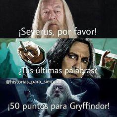 50 puntos para Gryffindor