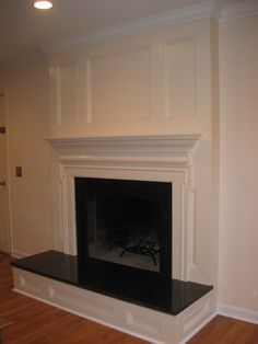 custom fireplace surround - traditional - family room - dc metro - by FA Design Build / Flooring America