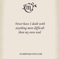 my sign, scorpio. ♏