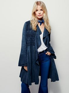 Embroidered Meadow Jacket at Free People Clothing Boutique
