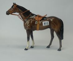 Collectors & General Auction – Lot 611 – Beswick Large Racehorse 1564 with complete harness