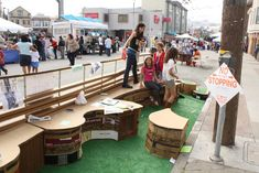 Parklet to be built in front Excelsior's Mama Art Cafe