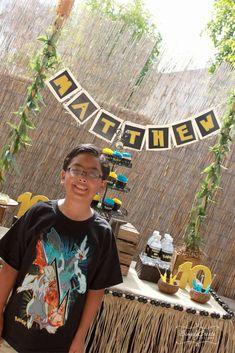 Matthew's Pokemon Island Party | CatchMyParty.com