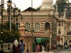 Masjid Jamek, Kuala Lumpur mosque / Moschee #Malaysia