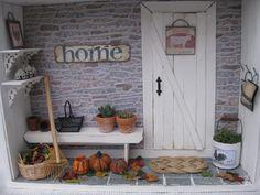 The Autumn Roombox - miniatyrmama