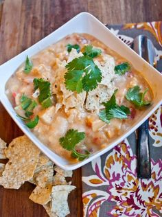 Chicken Recipes : Chicken Tortilla Soup Recipe