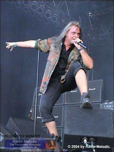 Helloween - Andi Deris Heavy Metal Music, Heavy Metal Bands, Power Metal, Andreas, Rock N Roll, Old School, Sexy, Passion, Halloween