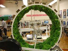 "6 ft. #hydroponics ""Bonsai"" wheel. - source - Heavy T's Grow Show"