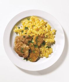 Pork Scaloppine from realsimple.com #myplate #protein