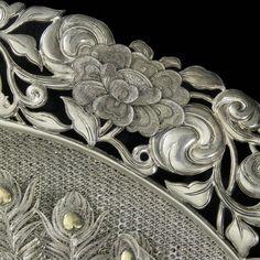 Indian Silver Ceremonial Plaque (India)