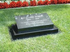 Grave of Richard M. Nixon, CA