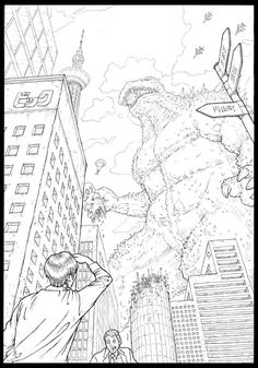 two point perspective vertical by tossynkm on DeviantArt Perspective Tattoos, Perspective Drawing, Two Point Perspective City, City Background, Middle School Art, Drawing For Kids, Drawing People, Cartoon Drawings, Art Education
