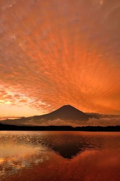 Mt. Fuji Sunset, Japan