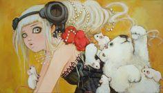 eclectic cow: Camilla d'Errico