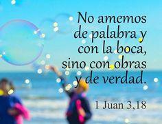 44 Ideas De 1 Juan Versículos Bíblicos Mensaje De Dios Palabra De Dios