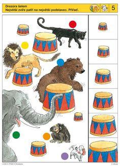 knijpkaart Educational Games For Kids, Indoor Activities For Kids, Brain Activities, Kids Learning, Montessori Math, Preschool Activities, Visual Perception Activities, Sequencing Cards, Toddler Activities