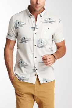 SoldOut! Tug-O-War Short Sleeve Shirt by Zanerobe on @HauteLook