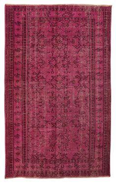 Over Dyed Carpet - Stylish Pink Overdyed Rug #carpet-runner #decorative-carpet #decorative-rug #hand-woven #handkontted #handmade-carpet #handmade-rug #handwoven-carpet #handwoven-rug #medallion #natural-colored-vintage-carpet #natural-colors #over-dyed #over-dyed-carpet #over-dyed-rug #overdyed #overdyed-carpet #overdyed-rug #pink-color-carpet #pink-color-carpet-rug #pink-color-kilim #pink-color-rug #purple-rug #rag-runner #recolored-carpet #recolored-rug #turkish-carpet #turkish-rug ...