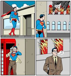Sorry Trumpty Dumpty, today is Superman's day off..........