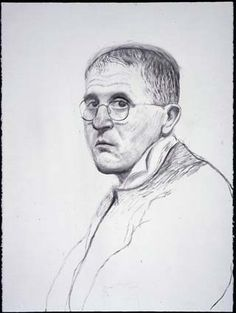 David Hockney <br> Self Portrait, March charcoal on paper<br> 30 x in. x cm)<br> Private collection David Hockney Artist, David Hockney Portraits, David Hockney Paintings, National Portrait Gallery, Museum Of Fine Arts, Rembrandt, Western Art, March 4, Art
