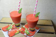 Alkoholfreies Erdbeerlimes