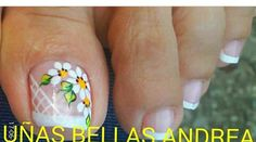 Pedicure Designs, Pedicure Nail Art, Toe Nail Designs, Toe Nail Art, Toe Nails, Toe Polish, This Little Piggy, Cute Pedicures, Nail Designs Spring