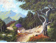pinturas arte romantico - Buscar con Google Art Prints, Artwork, Pictures, Painting, Landscapes, Google, Woodland Forest, Beautiful Landscapes, Frames