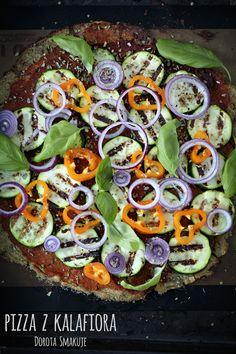 Pizza z kalafiora - dieta dr Dąbrowskiej