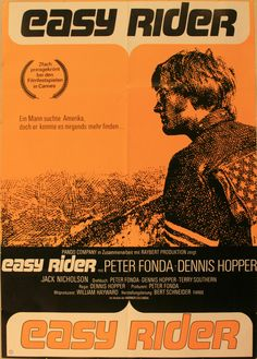 OnlineGalleries.com - Cinema Poster - Easy Rider, Peter Fonda, Dennis Hopper and Jack Nicholson