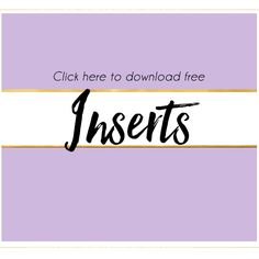 These are all free printable inserts to use inside of your planners! Most of these printables come in A5, Personal, A6 & Pocket sizes! Click the link below the image to go to the post and download your new inserts so you can start planning! Weekly Inserts  Filofax Inserts from Winter Victorian on Facebook...Read More