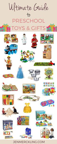 Ultimate Guide to Preschool Toys and Gifts