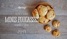 Bonjour Darling - Blog Illustration, Cuisine et DIY Bordeaux: Délicieuses petites fougasses Bacon-Oignon-Romarin