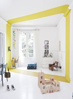 paint to define a room-within-a-room