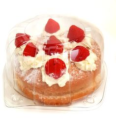 Deep sponge container hinge lidded pack, Protects the cake inside from getting damaged and presents very well as product can be seen. Sustainable Food, Packaging Solutions, Food Packaging, Trays, Panna Cotta, Cheesecake, Container, Presents, Deep
