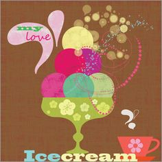 Elisandra Sevenstar - icecream