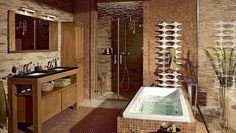 Sprcha bez údržby: 10 praktických krokov ako si uľahčiť upratovanie v kúpeľni Bathroom Lighting, Mirror, Furniture, Home Decor, Bathroom Light Fittings, Homemade Home Decor, Mirrors, Home Furnishings, Interior Design