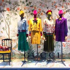 """COLETTE,Paris,France, """"The super chic Gucci display in the window  at Colette in Paris """", pinned by Ton van der Veer"""