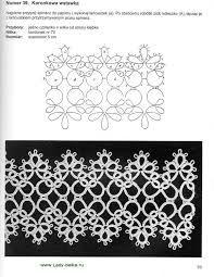 Resultado de imagem para tatting patterns schemi