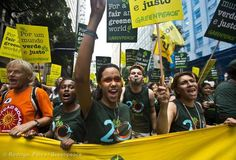 Demonstration at the People's Summit, Rio +20
