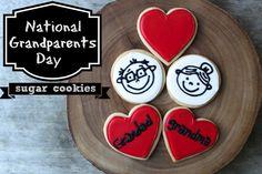 Grandparents Day Sugar Cookies
