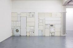 Michael Johansson - Ghost V, 2011 White objects.