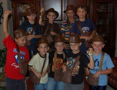 Iindiana Jones party