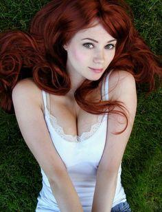 Beautiful dark copper hair