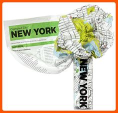 Crumpled City Map-New York - Dont forget to travel (*Amazon Partner-Link)