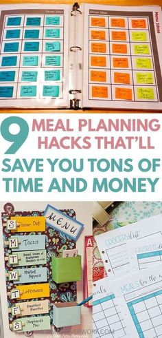 Weekly Meal Planning Has Always Been Hard For Me Because It Took Up So Much Of