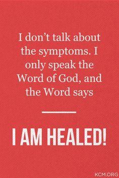 Speak the Word.
